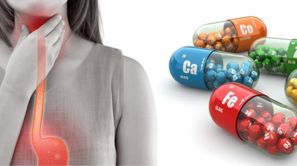 مکملهای ویتامینی و رفلاکس